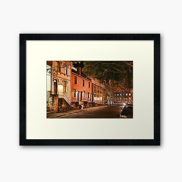 Sydney - The Rocks Framed Art Print