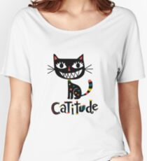 Catitude Women's Relaxed Fit T-Shirt