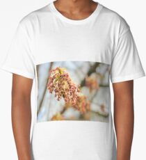 Young tree seeds. Long T-Shirt