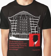 Frank Lloyd Wright, Master of Architecture Graphic T-Shirt