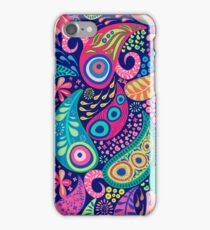 Paisley Peacock iPhone Case/Skin