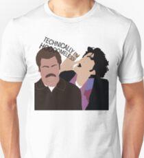 Jean Ralphio - Technically I'm Homeless Unisex T-Shirt