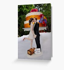 Wedding Cake Topper Greeting Card