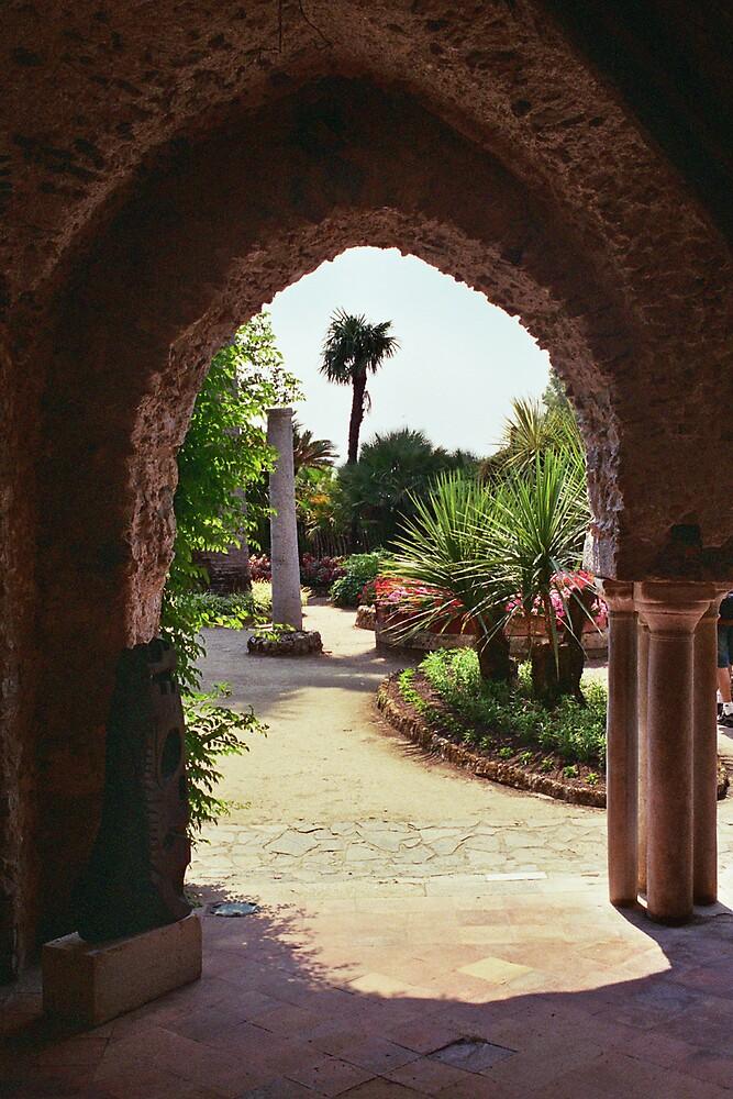 Archway at Giardini Villa Rufolo, Ravello by Leigh Penfold