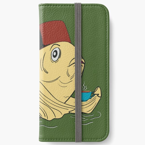 Night of the Cuppa iPhone Wallet