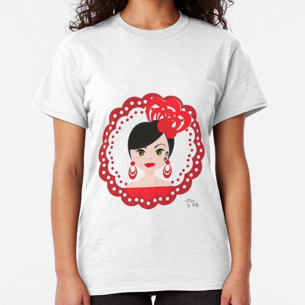 MariHolly Flamenca Camiseta clásica
