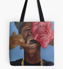 Gold Teeth Have So Much To Say Tote Bag