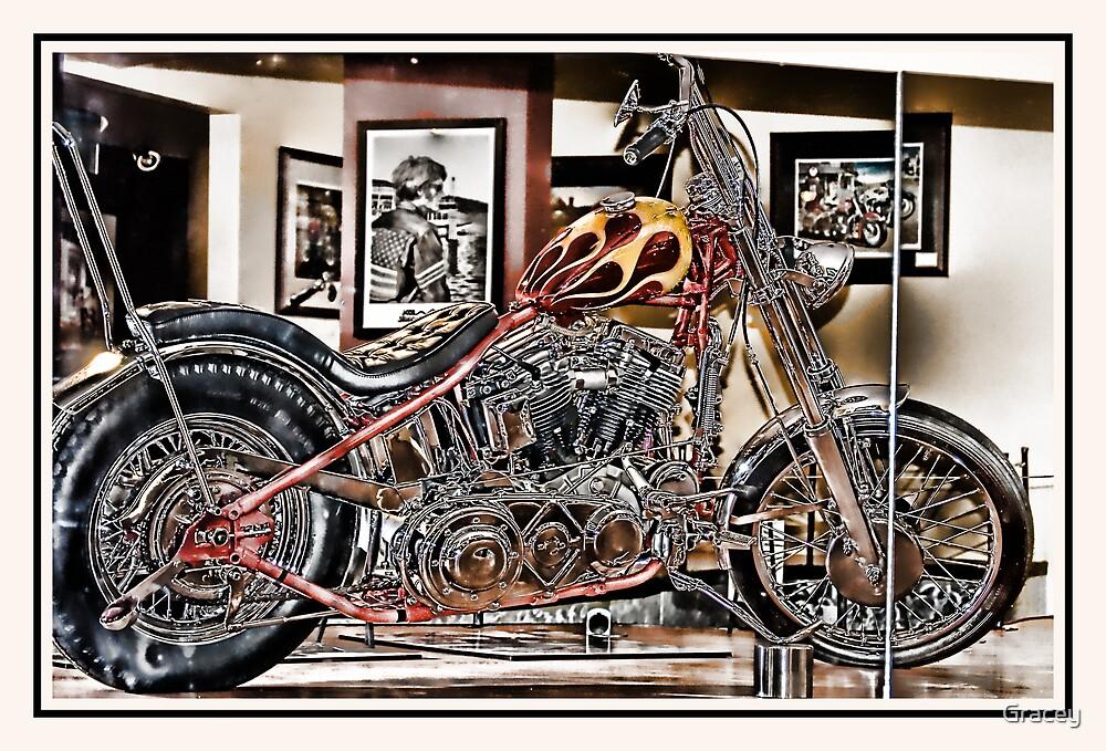 Mirrored Bike by Gracey