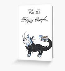 Tuxedo Ringbearer Greeting Card