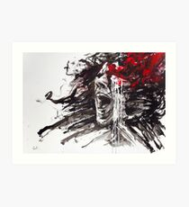 """""""The Pain of Cluster Headache"""" by Agnes-Cecile Art Print"""