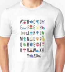 Alphabet Cute  Unisex T-Shirt
