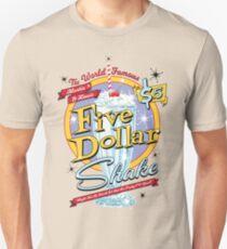 Jack Rabbit Slim's Presents The Five Dollar Blue Bell Shake Unisex T-Shirt