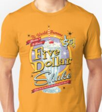 Jack Rabbit Slim's Presents The Five Dollar Blue Bell Shake T-Shirt