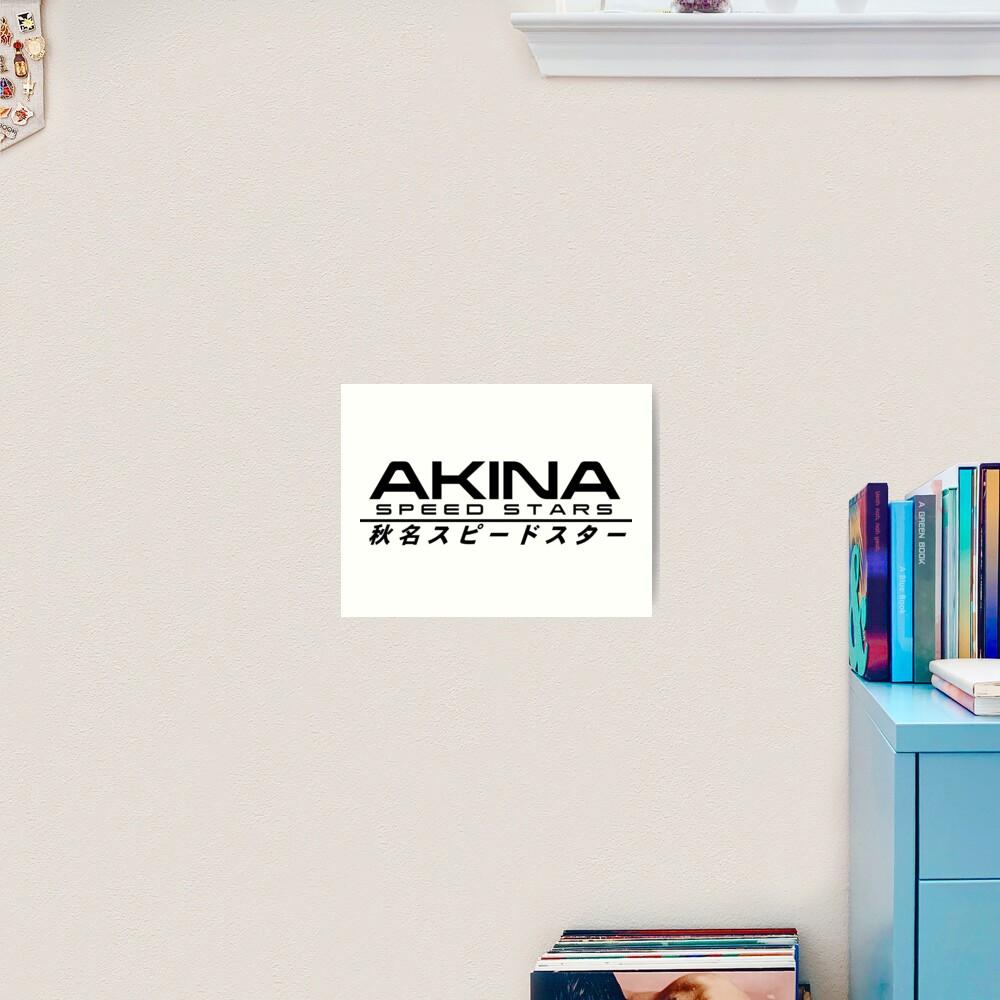 INITIAL D - AKINA SPEED STARS Art Print