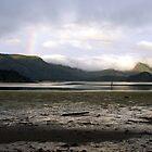 Daybreak over Kagan Bay, Haida Gwaii (British Columbia, Canada) by Edward A. Lentz