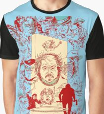 The Many Faces of Kubrick Graphic T-Shirt