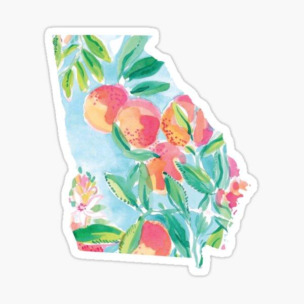 georgia 1 Sticker