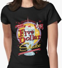 Jack Rabbit Slim's Presents The Five Dollar Bright Sun Shake Womens Fitted T-Shirt
