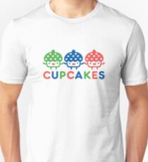 Cupcake Fun primary Unisex T-Shirt