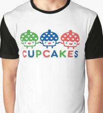 Cupcake Fun primary Graphic T-Shirt