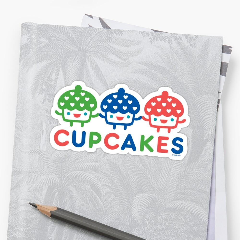 Cupcake Fun primary by Andi Bird
