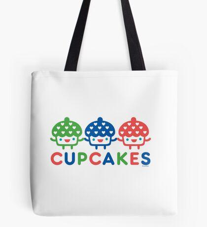 Cupcake Fun primary Tote Bag