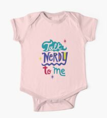 Talk Nerdy To Me One Piece - Short Sleeve