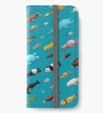 Sleeping Animals iPhone Wallet