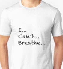 Camiseta unisex No puedo respirar