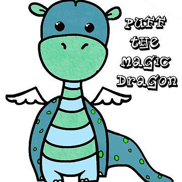 Sopla el dragón mágico de AllisonKe