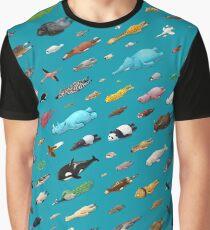Sleeping Animals Graphic T-Shirt