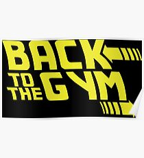 Back To The Future - Gym Poster
