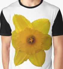 Yellow Daffodil Graphic T-Shirt