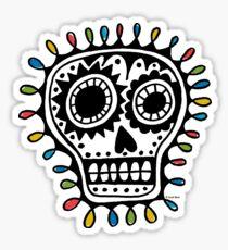 Sugar Skull - sharpie Sticker