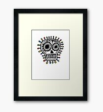 Sugar Skull - sharpie Framed Print