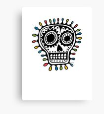 Sugar Skull - sharpie Canvas Print