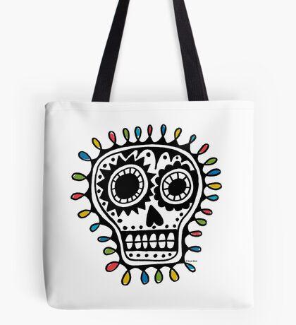 Sugar Skull - sharpie Tote Bag