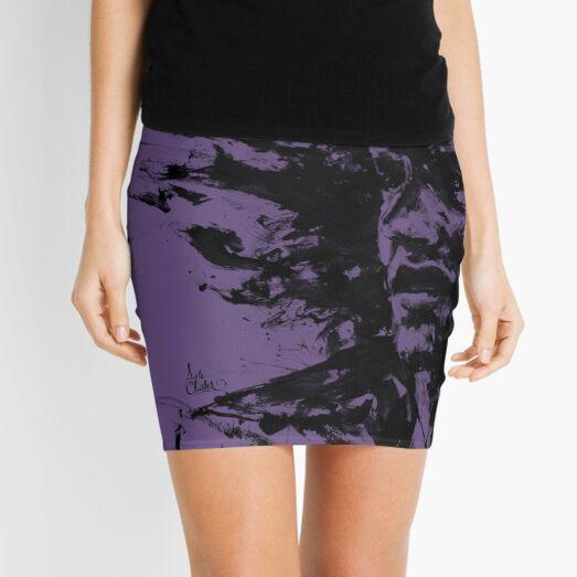 The Burden... Purple Edition Mini Skirt