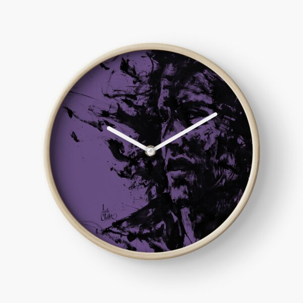 The Burden... Purple Edition Clock