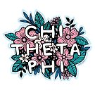 Chi Theta Phi Floral by laurensalgado