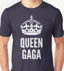 Queen Lady Gaga White T-Shirt