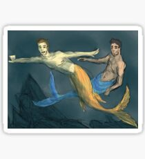 Sterek Mermen Sticker