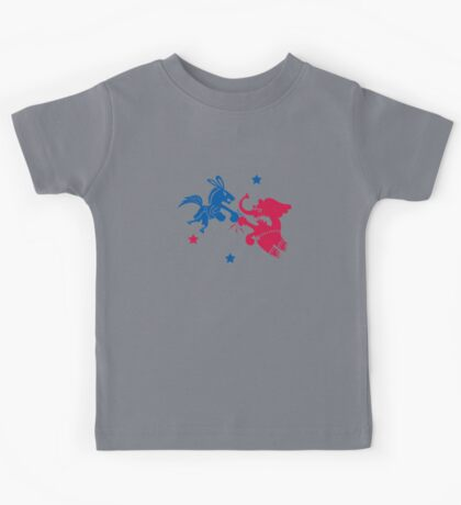 Political Fight t shirt Kids Clothes