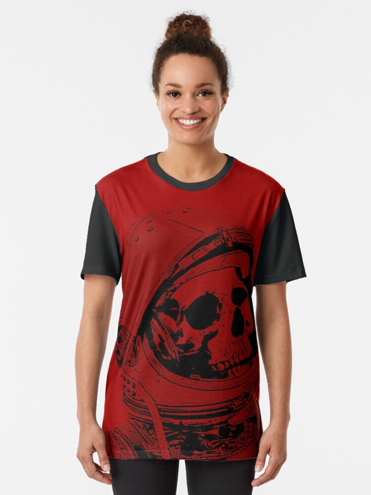 Alternate view of Death On Mars Graphic T-Shirt