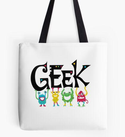 Geek Monsters Tote Bag