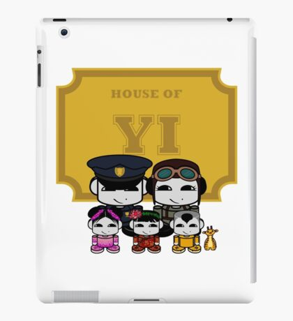 O'BABYBOT: House of Yi Family iPad Case/Skin