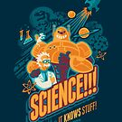 « Science!!! Il sait des choses! (bleu) » par Waynem79