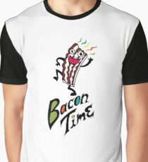 Bacon Time Graphic T-Shirt