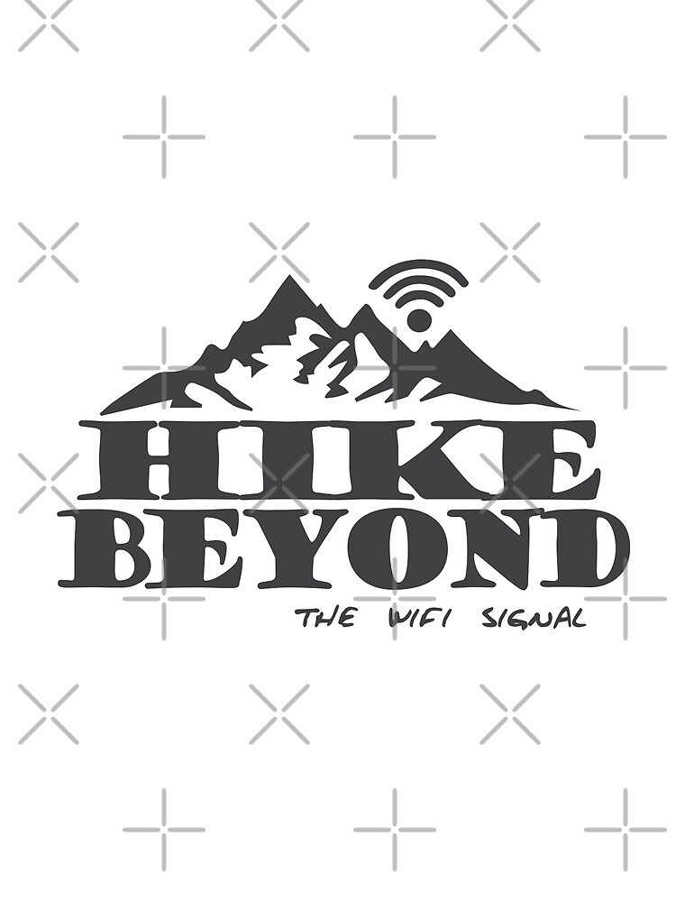 Hike Beyond the Wifi Signal - Mountains by jitterfly