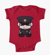 HERO'BOT Officer Opal Prime Short Sleeve Baby One-Piece